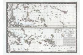 Carte de la Polynésie en 1826