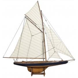 """Le yacht """"Columbia"""" - modèle réduit"""